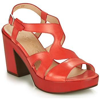 Pantofi Femei Sandale  Wonders PAROTI Roșu