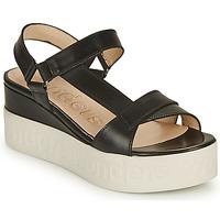 Pantofi Femei Sandale  Wonders PESTEL Negru