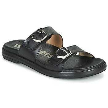 Pantofi Femei Papuci de vară Wonders PISTOIL Negru