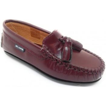 Pantofi Copii Mocasini Atlanta 24268-18 Bordo