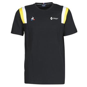 Îmbracaminte Bărbați Tricouri mânecă scurtă Le Coq Sportif RENAULT FANWEAR 20 Tee SS M Negru