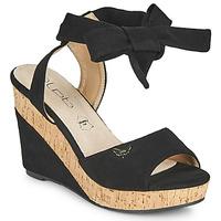 Pantofi Femei Sandale  Les Petites Bombes BELA Negru