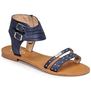 Pantofi Femei Sandale  Les Petites Bombes BELIZE Albastru