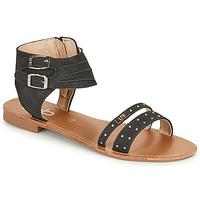 Pantofi Femei Sandale  Les Petites Bombes BELIZE Negru