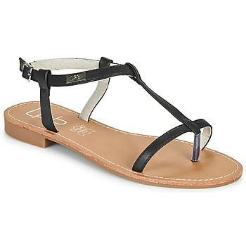Pantofi Femei Sandale  Les Petites Bombes BULLE Negru