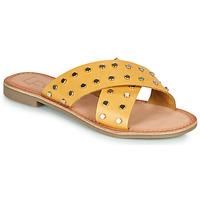 Pantofi Femei Papuci de vară Les Petites Bombes BELMA Galben