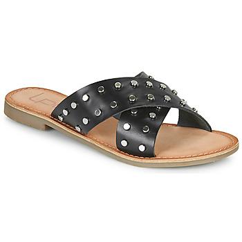 Pantofi Femei Papuci de vară Les Petites Bombes BELMA Negru
