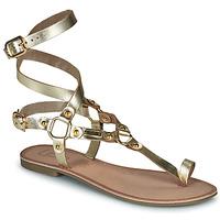 Pantofi Femei Sandale  Les Petites Bombes BLEONA Auriu