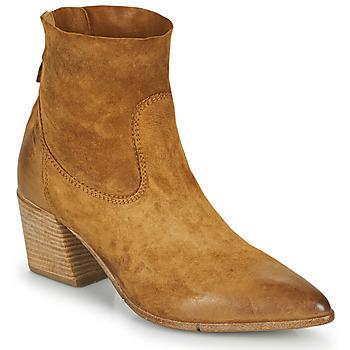 Pantofi Femei Botine Moma OSTUNI Maro