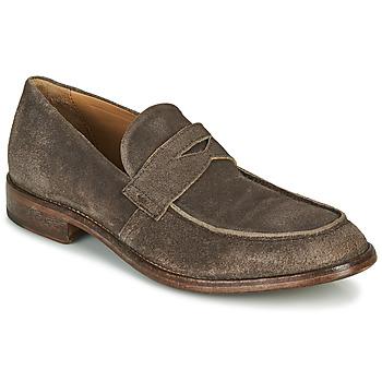 Pantofi Bărbați Mocasini Moma NOTTINGHAM Maro