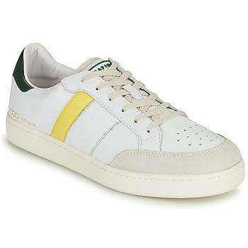 Pantofi Bărbați Pantofi sport Casual Serafini WIMBLEDON Alb / Verde / Galben