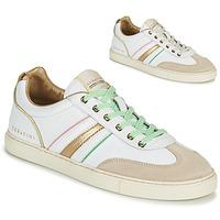 Pantofi Femei Pantofi sport Casual Serafini COURT Alb / Auriu