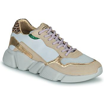 Pantofi Femei Pantofi sport Casual Serafini OREGON Alb / Auriu