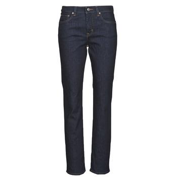 Îmbracaminte Femei Jeans drepti Lauren Ralph Lauren MIDRISE STRT-5-POCKET-DENIM Albastru