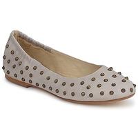 Pantofi Femei Balerin și Balerini cu curea Now CROTONE Bej