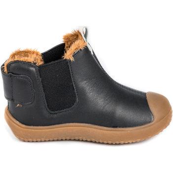 Pantofi Băieți Ghete Bibi Shoes Ghete Baieti Bibi Prewalker Black cu Blanita Negru