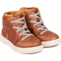 Pantofi Băieți Ghete Bibi Shoes Ghete Baieti Bibi On Way Caramel cu Blanita Maro