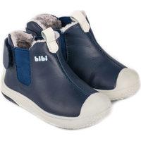 Pantofi Băieți Ghete Bibi Shoes Ghete Baieti Bibi Prewalker Naval cu Blanita Bleumarin