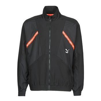 Îmbracaminte Bărbați Bluze îmbrăcăminte sport  Puma WVN JACKET Negru / Roșu