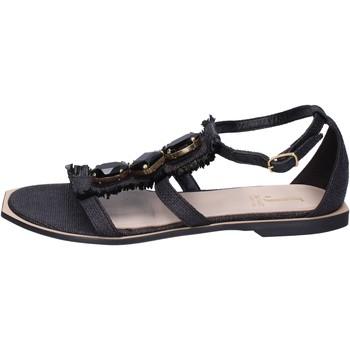 Pantofi Femei Sandale  Jeannot Sandale BK788 Negru