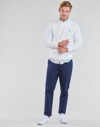 Îmbracaminte Bărbați Pantalon 5 buzunare Polo Ralph Lauren PANTALON CHINO PREPSTER AJUSTABLE ELASTIQUE AVEC CORDON INTERIEU Albastru