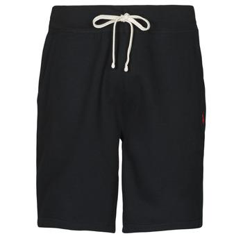 Îmbracaminte Bărbați Pantaloni scurti și Bermuda Polo Ralph Lauren SHORT MOLTONE EN COTON LOGO PONY PLAYER Negru
