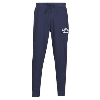 Îmbracaminte Bărbați Pantaloni de trening Polo Ralph Lauren BAS DE JOGGING EN MOLTON POLO RALPH LAUREN SIGNATURE Albastru