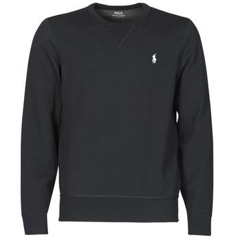 Îmbracaminte Bărbați Hanorace  Polo Ralph Lauren SWEATSHIRT COL ROND EN JOGGING DOUBLE KNIT TECH LOGO PONY PLAYER Negru