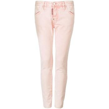 Îmbracaminte Femei Pantalon 5 buzunare Dsquared  roz
