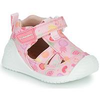 Pantofi Fete Sandale  Biomecanics 212212 Roz