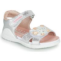Pantofi Fete Sandale  Biomecanics 212172 Argintiu