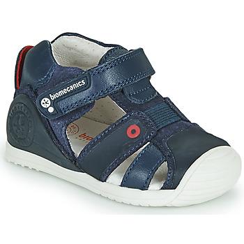 Pantofi Băieți Sandale  Biomecanics 212144 Albastru