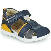 Pantofi Băieți Sandale  Biomecanics 212187 Albastru / Galben