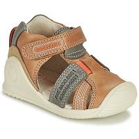 Pantofi Băieți Sandale  Biomecanics 212135 Coniac