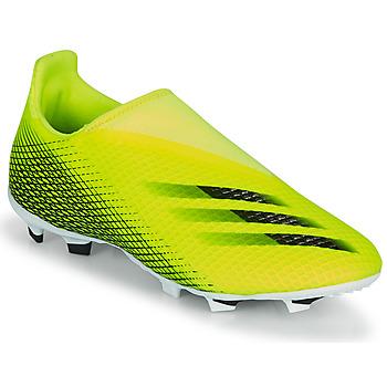 Pantofi Copii Fotbal adidas Performance X GHOSTED.3 LL FG J Galben / Negru