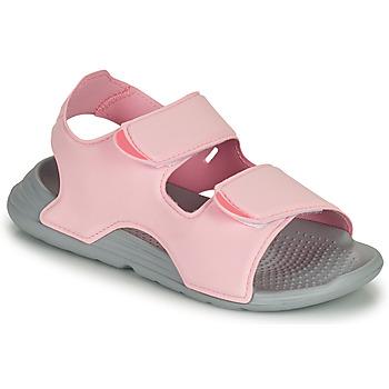 Pantofi Fete Sandale  adidas Performance SWIM SANDAL C Roz