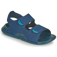 Pantofi Băieți Sandale  adidas Performance SWIM SANDAL C Albastru