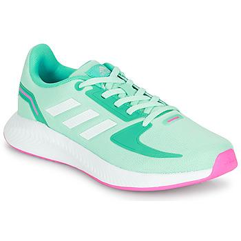 Pantofi Fete Pantofi sport Casual adidas Performance RUNFALCON 2.0 K Turcoaz / Roz