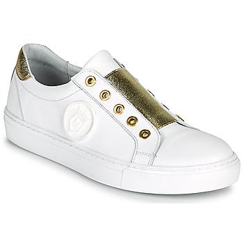 Pantofi Femei Pantofi sport Casual Myma PAGGI Alb / Auriu