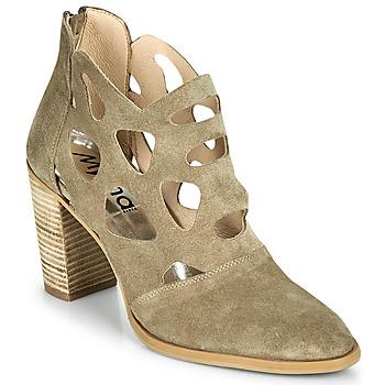 Pantofi Femei Botine Myma PAGGE Taupe