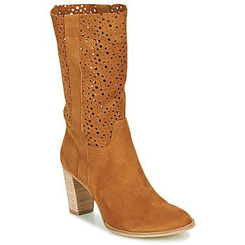 Pantofi Femei Botine Myma PAGGA Camel