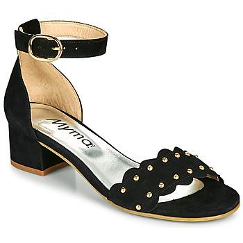 Pantofi Femei Sandale  Myma POLIVAR Negru