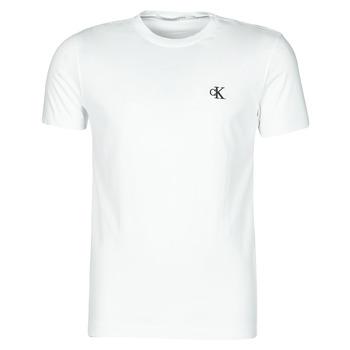 Îmbracaminte Bărbați Tricouri mânecă scurtă Calvin Klein Jeans YAF Alb
