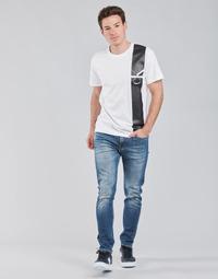 Îmbracaminte Bărbați Jeans drepti Calvin Klein Jeans SLIM TAPER Albastru / Medium
