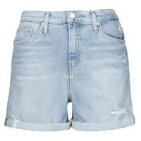Îmbracaminte Femei Pantaloni scurti și Bermuda Calvin Klein Jeans MOM SHORT Albastru / LuminoasĂ