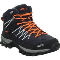 Pantofi Bărbați Drumetie și trekking Cmp Rigel Mid Negre