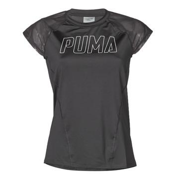 Îmbracaminte Femei Tricouri mânecă scurtă Puma WMN TRAINING TEE F Negru