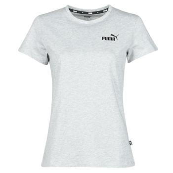 Îmbracaminte Femei Tricouri mânecă scurtă Puma ESS LOGO TEE Gri / Chiné