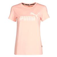 Îmbracaminte Femei Tricouri mânecă scurtă Puma ESS Logo Tee (s) Caisă