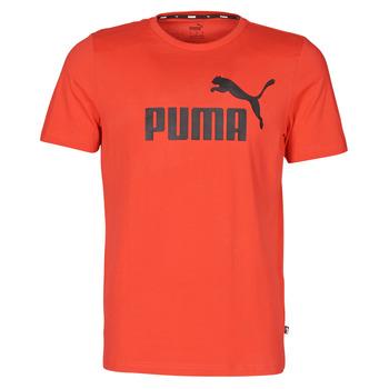 Îmbracaminte Bărbați Tricouri mânecă scurtă Puma ESSENTIAL TEE Roșu